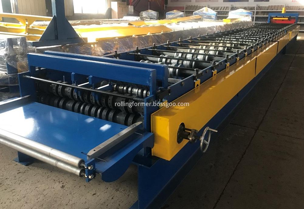 floor deck rollformer line 3