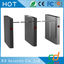 Bank Fingerprint Reader Drop Arm Turnstile Barrier
