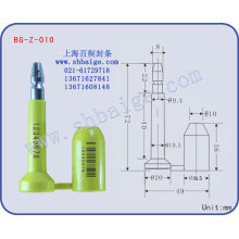 Container-Siegel BG-Z-010 Zollverschluss