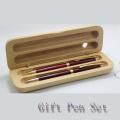 Ensemble de cravate avec motif design avec boîte en bois