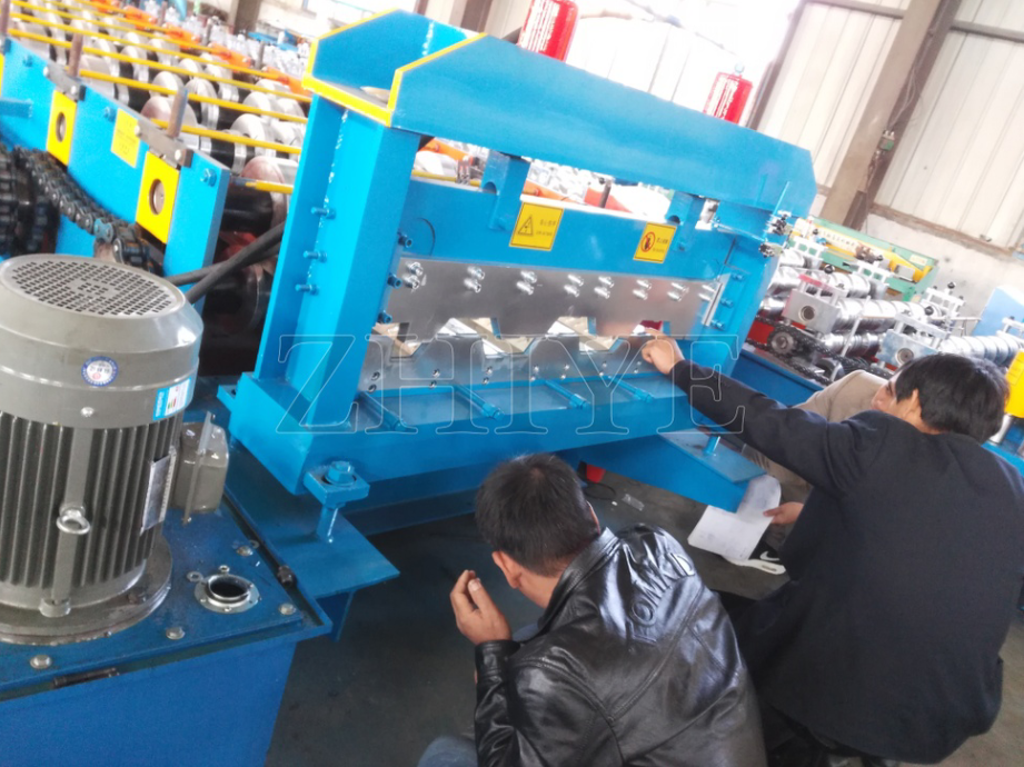 floor decker tile machine