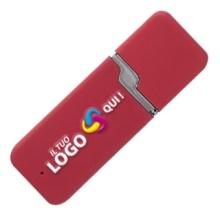 Fesyen plastik USB Flash Drive dengan Logo yang disesuaikan