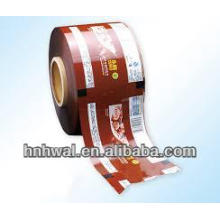 Aluminum foil heat sealing film for beverage/milk bottle
