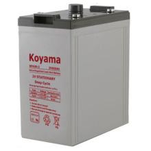 2V batería estacionaria -2V600ah para el sistema de energía solar