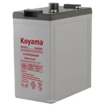 2V Stationary Battery -2V600ah for Solar Power System