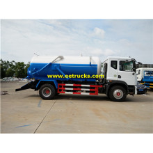 Dongfeng 10 CBM Vacuum Ordure Suction Trucks