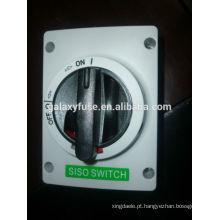 Interruptor do isolador Solar DC DC 1000V