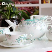 China Factory Accept OEM Personalized Simple Fine Ceramic Coffee Set