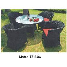Modern Leisure Garden Rattan Patio Outdoor Dining Tea Table Chair