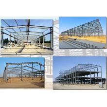 Fabrication de structure métallique préfabriquée pour entrepôt
