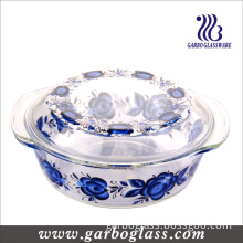 Pyrex Glass Cooking Pot with Decal Design (GB1313265-TH)