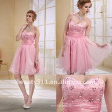 Astergarden сразу доставка розовый бисером выпускной платье EK25