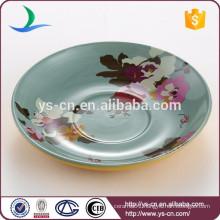 China manufacturer ceramic dessert plate wholesale