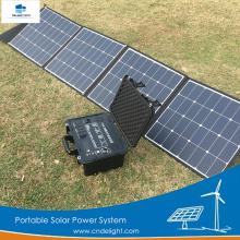 DELIGHT Sistema de energía de energía solar portátil de 200W para el hogar