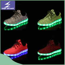 Hot Selling Yeezy Boost LED Light Sports Shoes