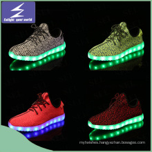 New Style Running Changeable Colorful LED Christmas Light Shoes