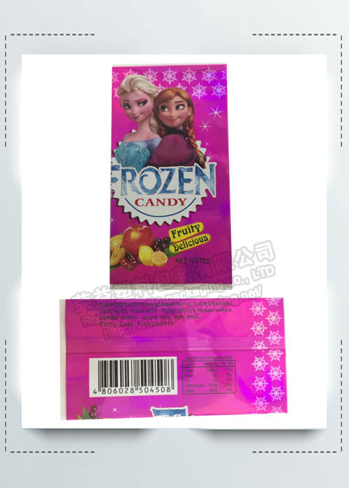 Lovely Frozen Candy Label
