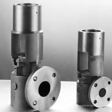 Bomba de parafuso personalizada com usinagem