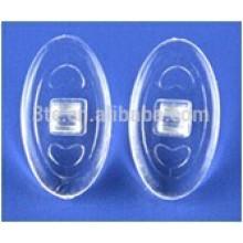 Peças de quadro óptico, almofadas de nariz de silicone