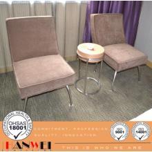 Muebles circulares del hotel de la mesa de centro del marco metálico