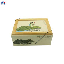 Classical tea packaging box