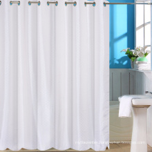 Factory wholesale White Blank Polyester Poplin Shower Curtain For Sublimation
