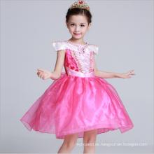 Prinzessin Abend Party Kleider Spaghetti Strap Kinder Urlaub customes für das Leben Theater Kleidung tanzen Ball Kleidung Kleid