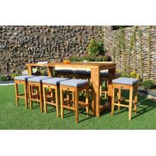 Produit Premium Ensemble de bar en rotin pour meuble en osier pour jardin extérieur