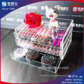 High Quality Clear Acrylic Makeup Organizer Drawers