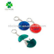 round shape mini tool keychain