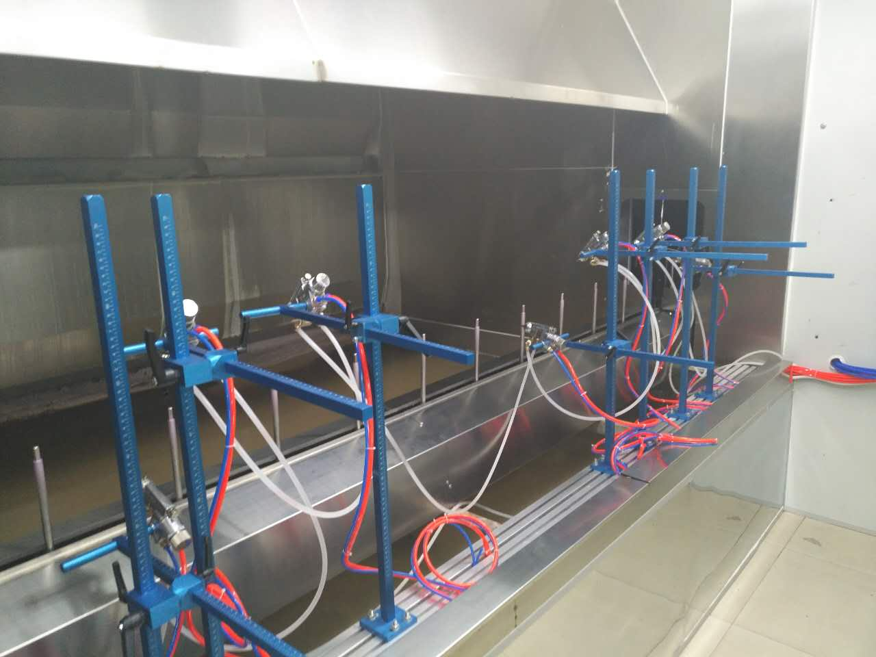Automatic Spray Painting Line For Spray Booth