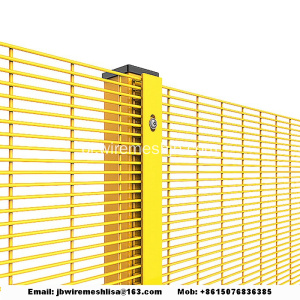 High Security 358 Anti Climb Fence