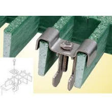FRP M Clip /Fixed Part/Fixed Support/Fiberglass