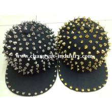 OEM snapback punk studded hat