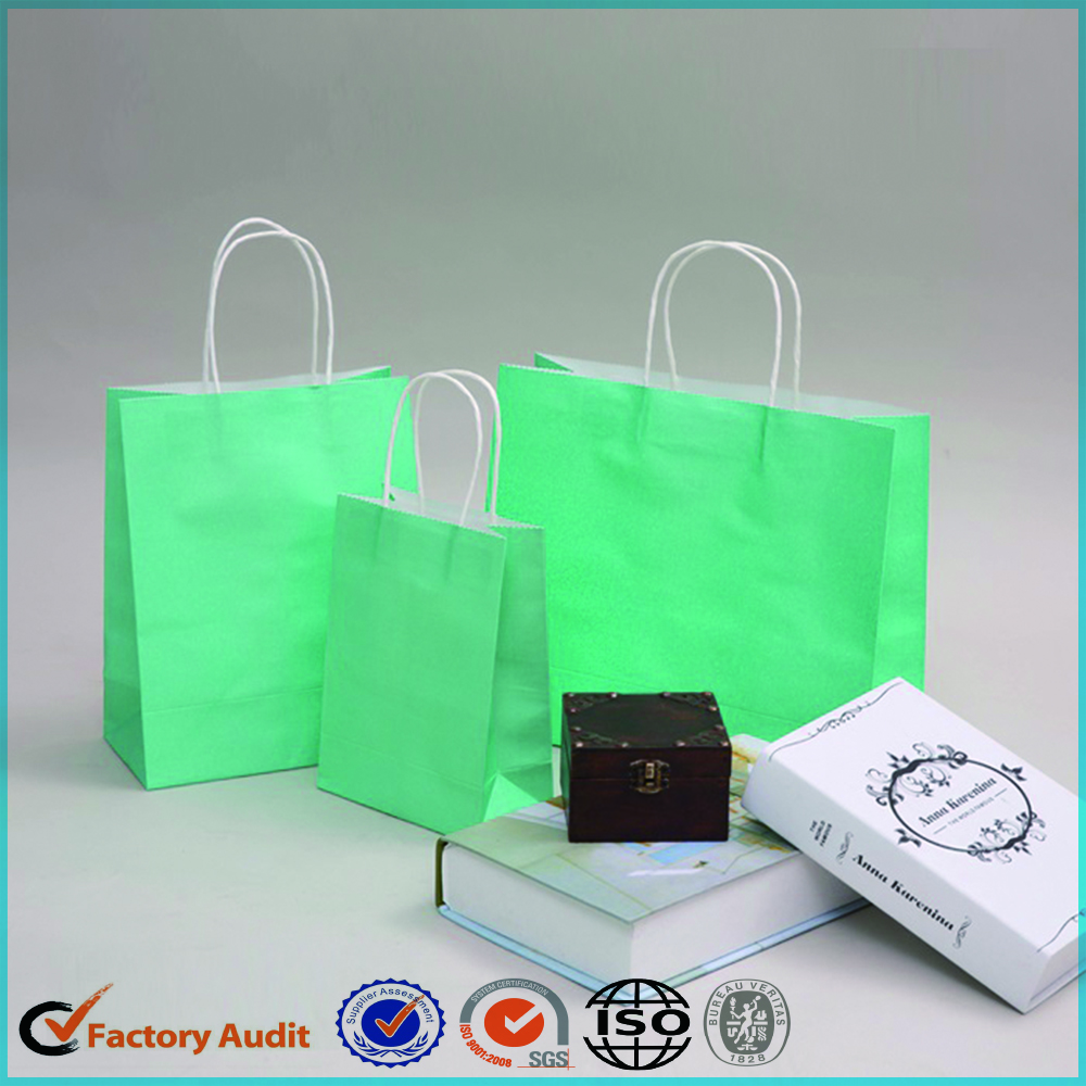 Recycled Paper Bags With Logo For Gifts
