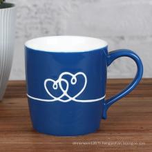 Cadeau de tasse de café de fleur rôtie
