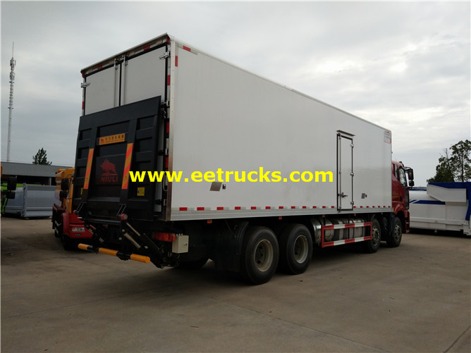 12 Wheel Reefer Cargo Trucks