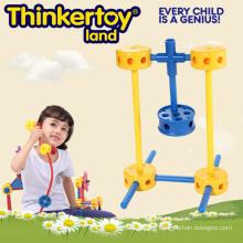 DIY Plastic Education Kid′s Toy Plastic Building Connector