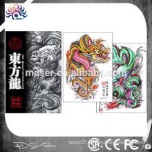 Orient dragon image tattoo book fantastic custom tattoo sketch book