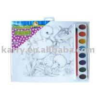 Pintar por número, desenho art set 8013 #