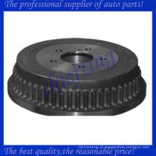 5019407AA 18B533 F9715 SB9715 componentes do tambor de freio traseiro para chrysler