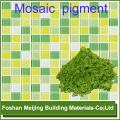 10% скидка зеленого цвета желтого цвета производитель стеклянной мозаики пигмента