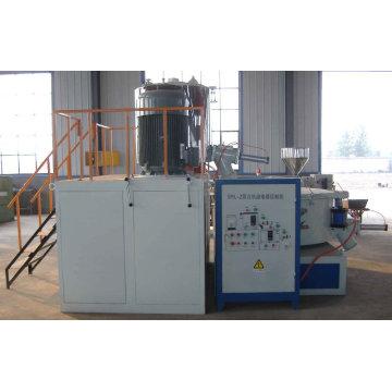 Plastic material mixer plastic processing machine