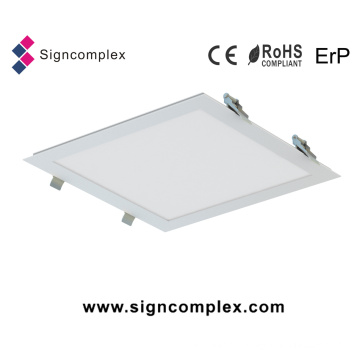 70lm/W Slim 39W 60X60 Square LED Light Panel with Spring Installation