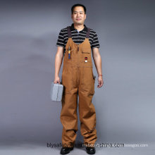 Mens Heavy Twill Builders Work Dungarees Bib and Brace Overall Trousers (BLY4002)