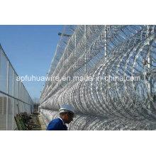 Galvanized Steel Razor Wire for Sale