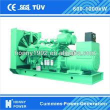 Honny groupe électrogène diesel basse ou haute tension 800kVA 640kW
