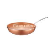 Copper Pan Aluminum Non-stick Coating Wok