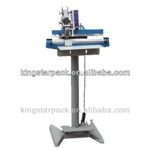 PFS-F350 pedal sealing machine with coder