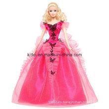 Personalizado de recuerdo de plástico mariposa de regalo de Navidad muñeca modelo niños juguetes